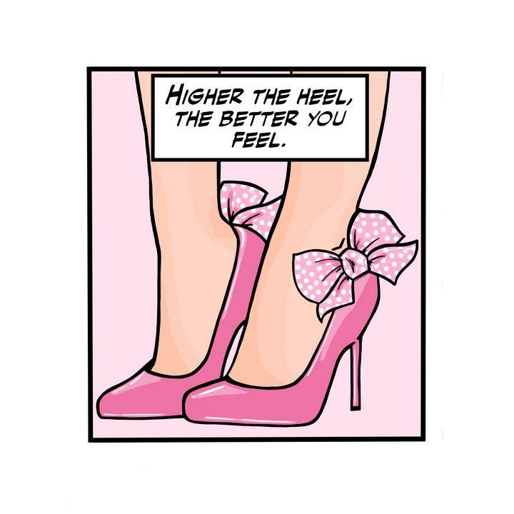 Higher the heel - TrinadiPop