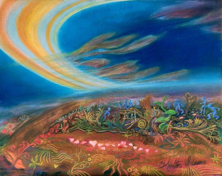 Dates of Space - Art of Walter James Idema