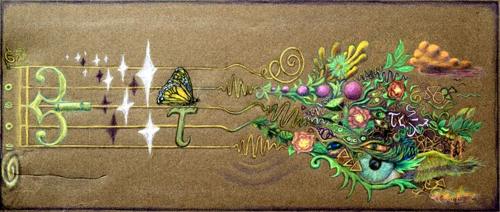 No Borders in Butterfly Time - Art of Walter James Idema