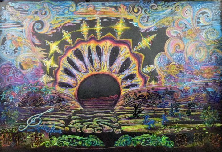 The Soundhole Horizon - Art of Walter James Idema