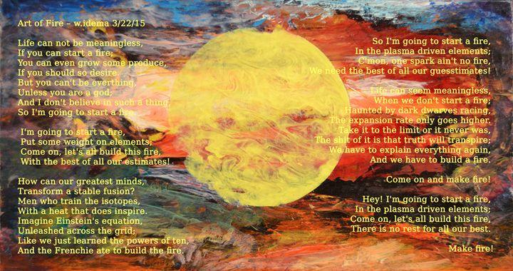 Art of Fire - Art of Walter James Idema