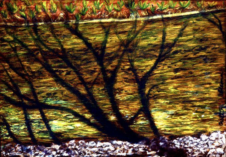 Brook Shade - Art of Walter James Idema