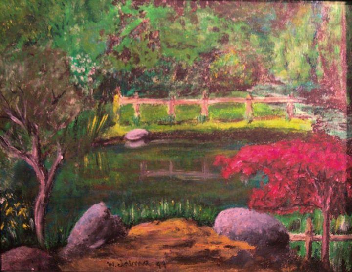 Apol Pond, Pine Rest - Art of Walter James Idema