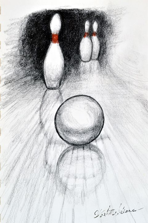 Spare Sketch - Art of Walter James Idema