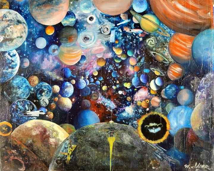 Planets - Art of Walter James Idema