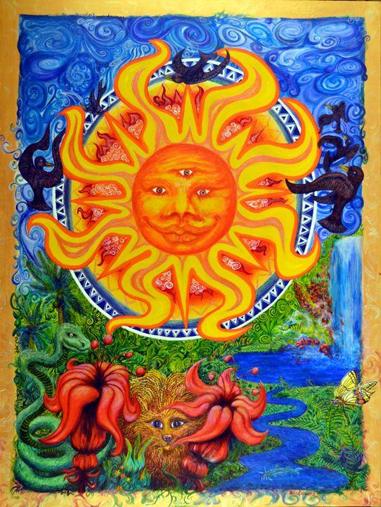 Sun of Pacifica - Art of Walter James Idema