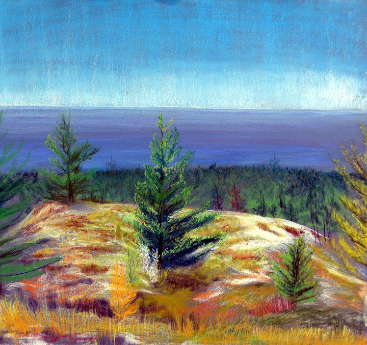 Lake Michigan Coast - Art of Walter James Idema