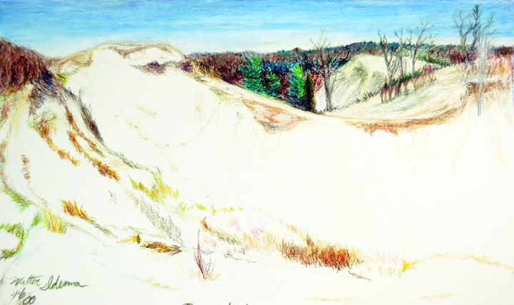 Saugatuck Dunes - Art of Walter James Idema