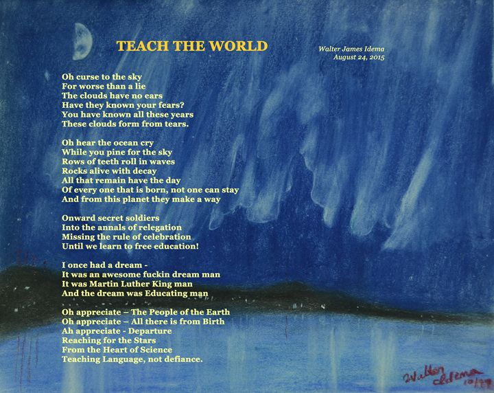 Teach the World - Art of Walter James Idema
