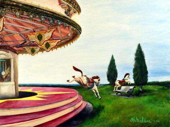 Carousel - Art of Walter James Idema
