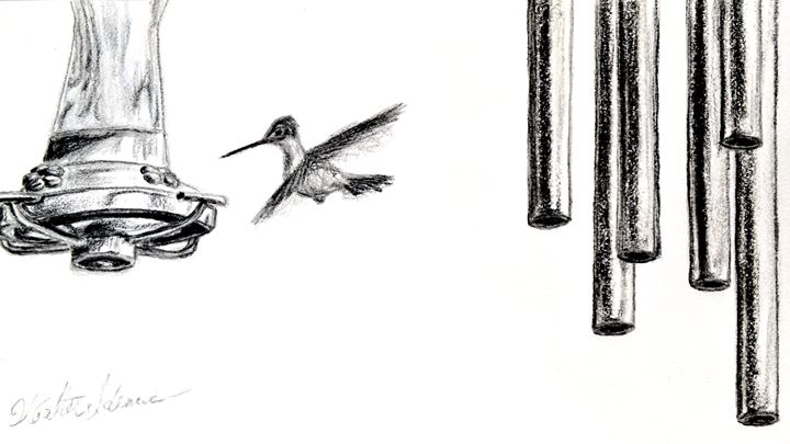 Hummingbird - Art of Walter James Idema