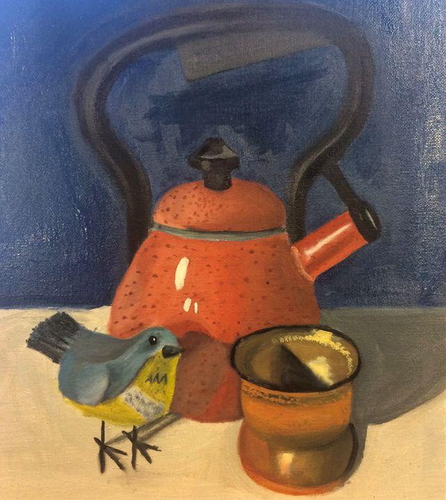Kettle Still Life - Reiff's Creations