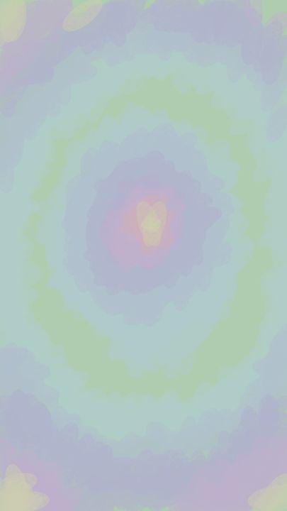 Green light meditation - Sonia - Digital Art, Religion