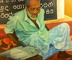 Fishseller Sri Lanka