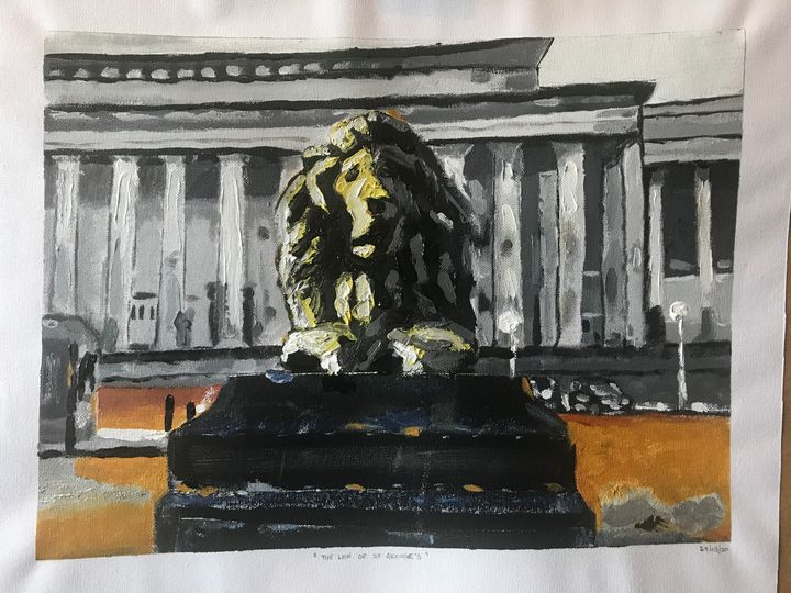 The lion of St George's Hall - John Nogger