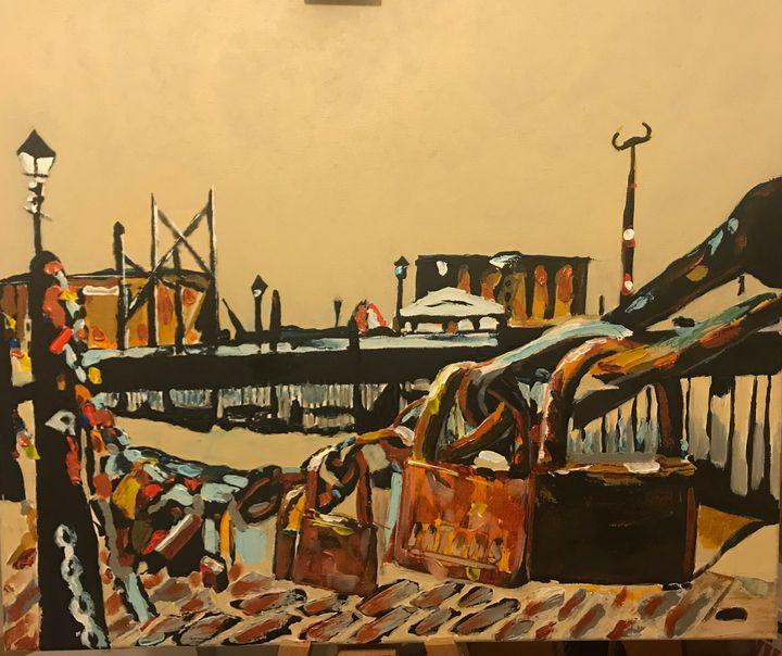 The locks of Liverpool - John Nogger