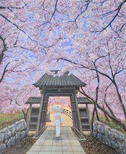 Cherry Blossom Evening