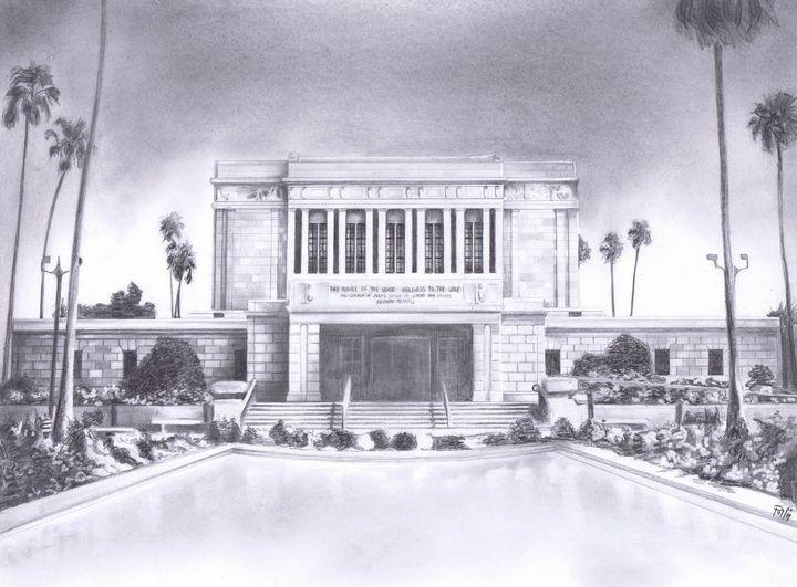 Mesa Temple - Pullin Artwork