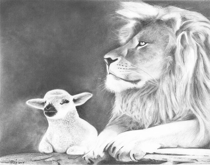 The Lamb and the Lion - Pullin Artwork