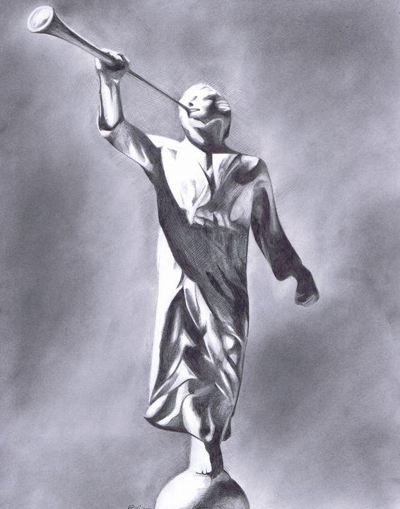 Angel Moroni - Pullin Artwork