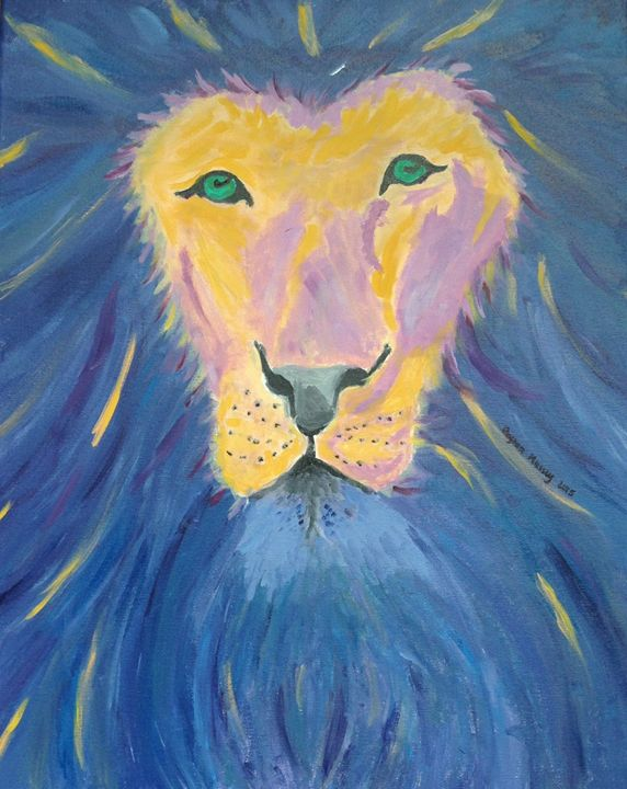Purple Lion - Payton Massey