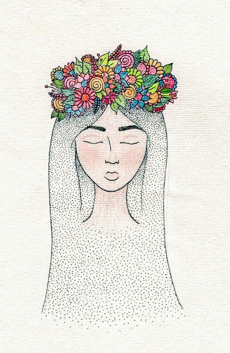 Crown Of Flowers - Olivia Lockhart