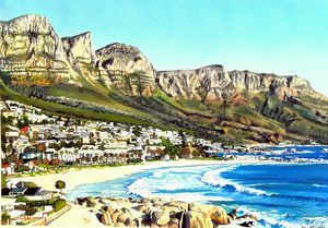 CAMPS BAY WITH 12 APOSTLES