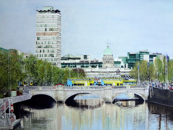 O'CONNELL BRIDGE, DUBLIN - Bill de Lange