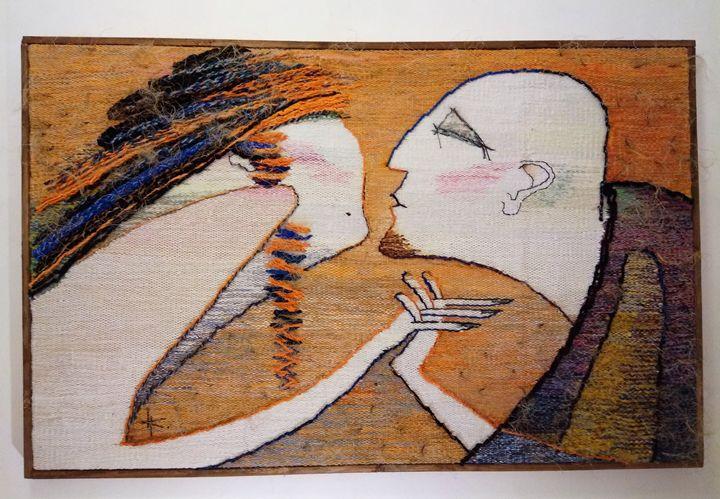 "Tapestry ""My friend"" - Modern tapestry"
