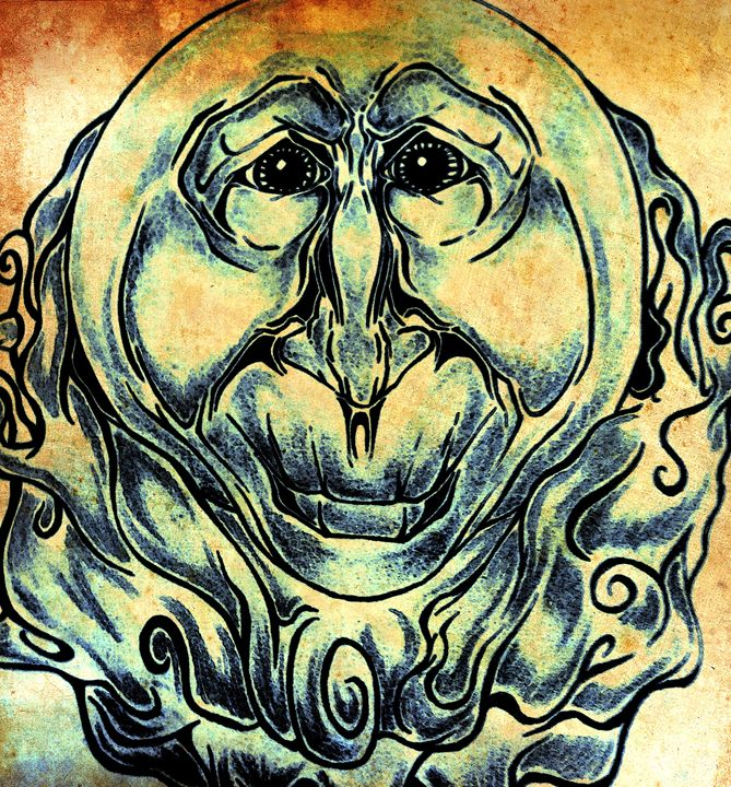 The Sun is Smiling - Dream Sketch Designs