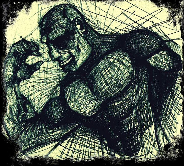 Strongman - Dream Sketch Designs