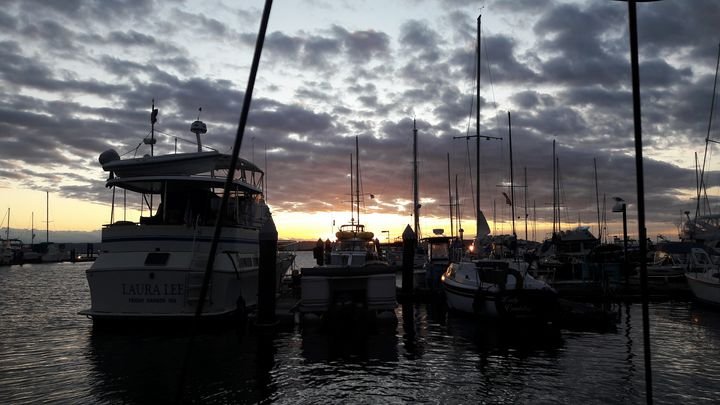 Sailboats on Water with Sunset - The Beauty that Surrounds Us