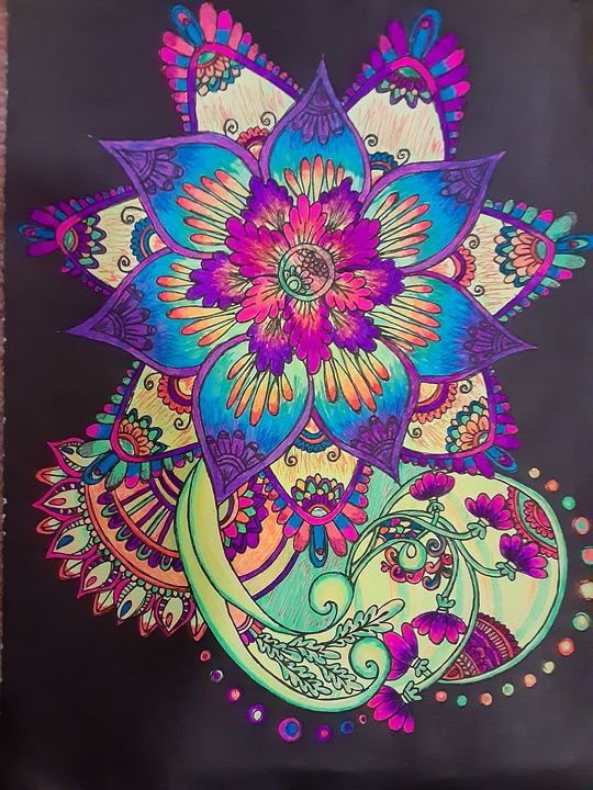 Neon Flower - The Beauty that Surrounds Us