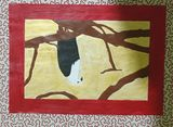 African eagle painting