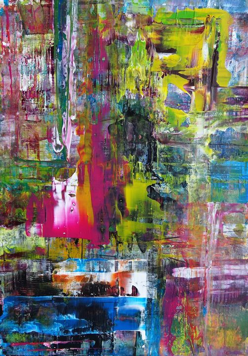 """""""Symphony of colours II"""" - Paintings by Jaiodesign"""