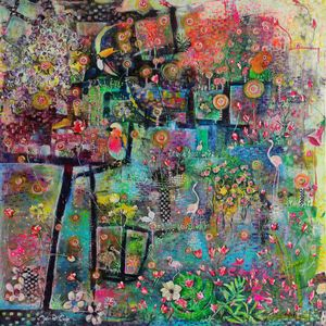 FLAMAZING - Paintings by Jaio Dos Anjos