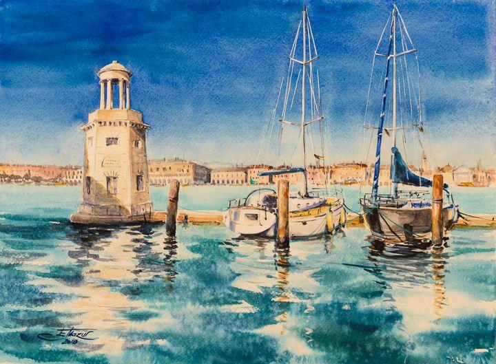 Marina Venice, Italy - Eve Mazur