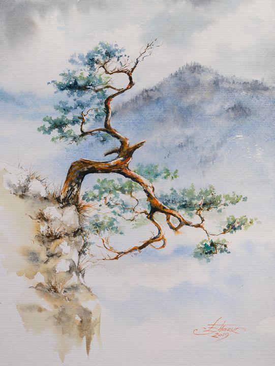 Pine tree III - Eve Mazur