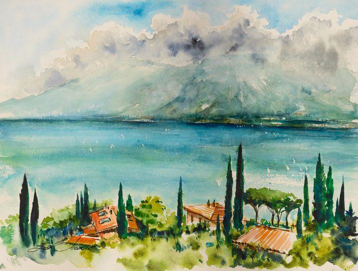 Garda Lake, Italy - Eve Mazur