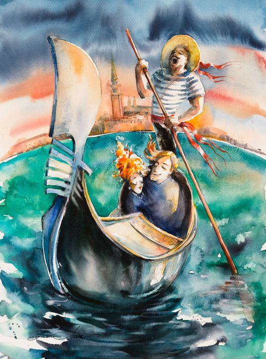 Love in Venice - Eve Mazur