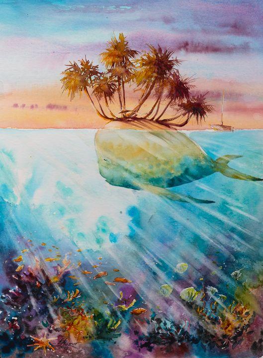 Paradise island - Eve Mazur