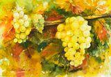 Original watercolor painting 30x40 c