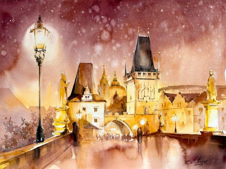 Prague, Charles Bridge - Eve Mazur