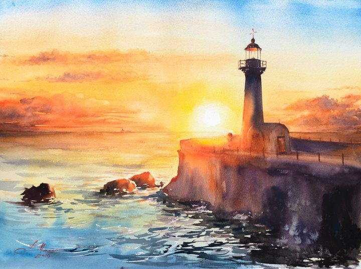 Felgueiras Lighthouse, Porto - Eve Mazur