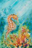 Original watercolor painting 38x56