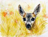 Original watercolor painting 50x40 c