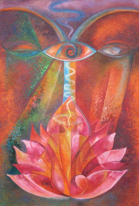 Lotus Meditation - Bindu Popli