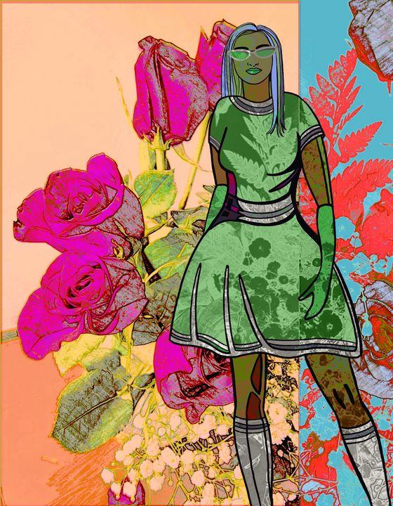 Flower Power Girl - Kathleen Ross
