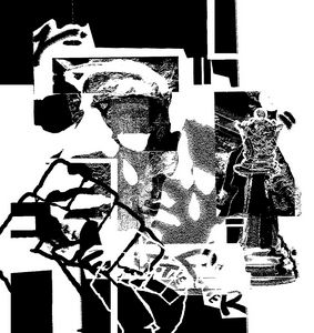 """X"" Black and White version"