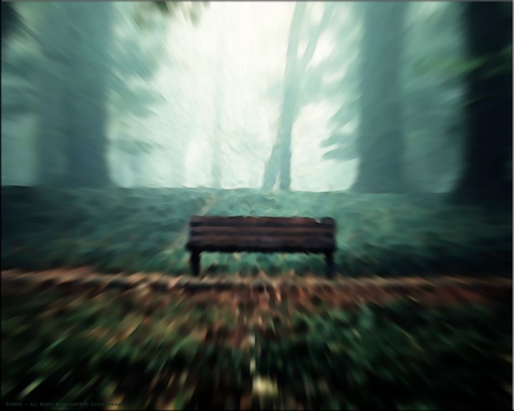 Park Bench - Creative Works Art Collection